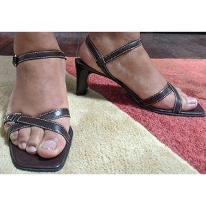 90s Franco Sarto Sandals